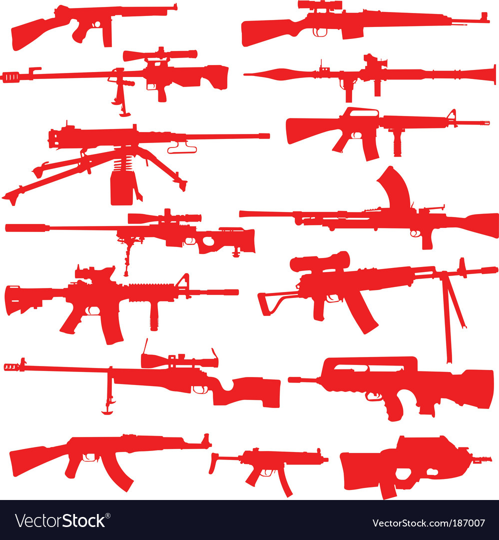 Rifles and assualt weapons