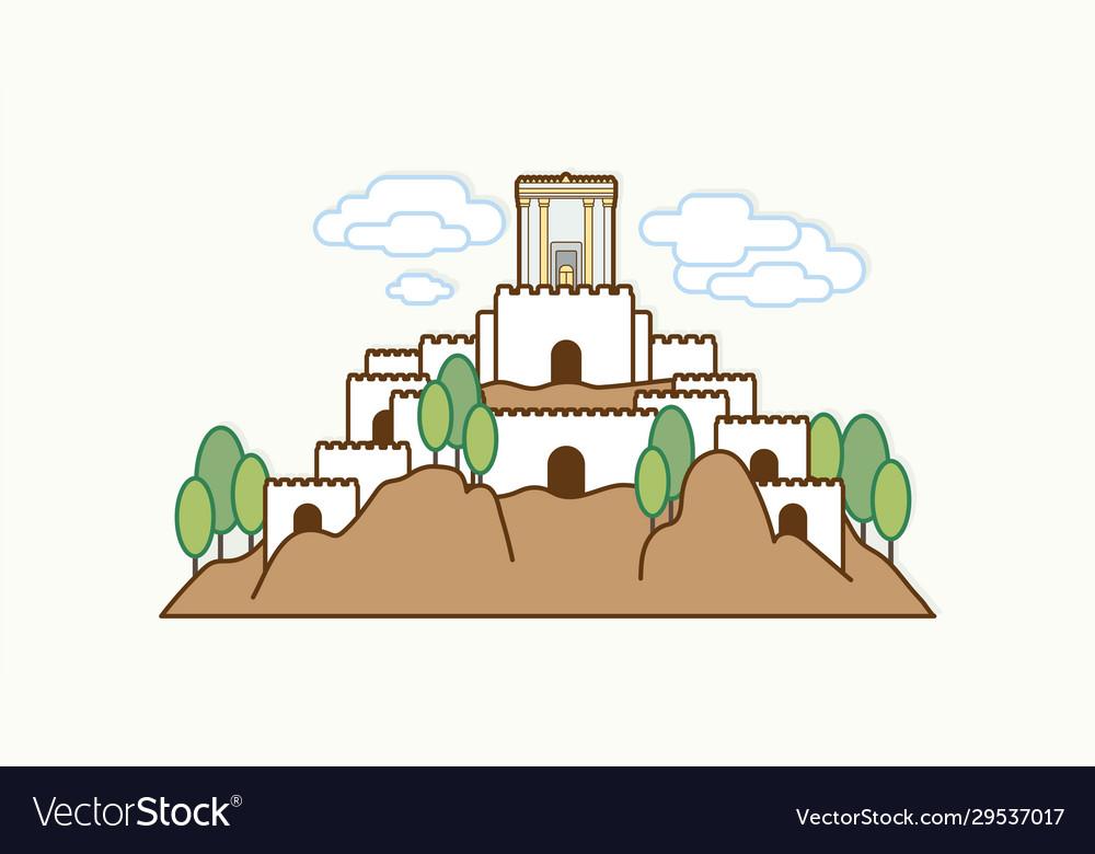 Jerusalem israel temple at old city israel