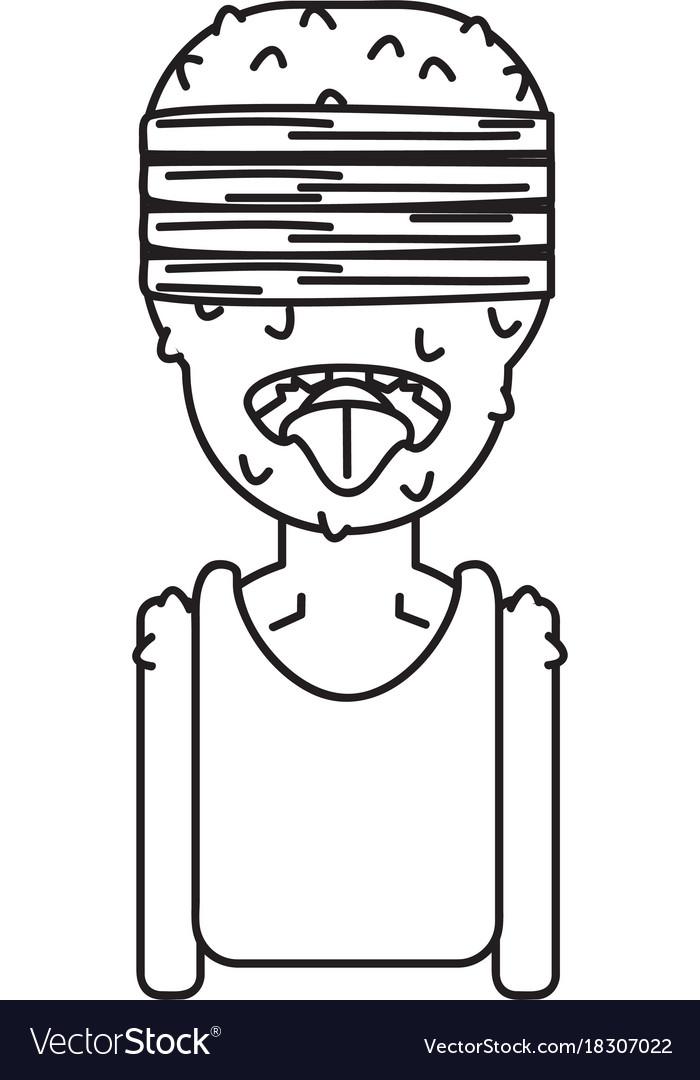 Design character zombie