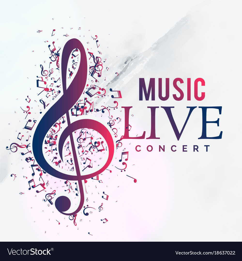 Create A Rockabilly Poster With Vector Set 22: Music Live Concert Poster Flyer Template Design Vector Image
