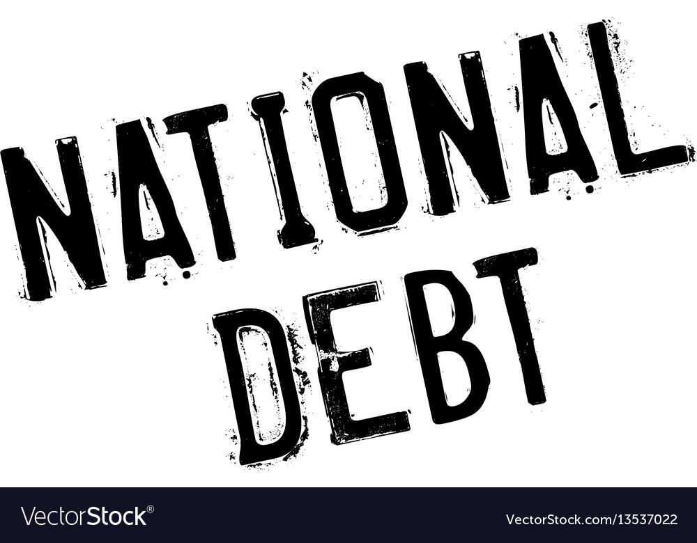 National debt rubber stamp