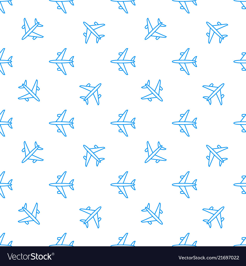 Seamless aircraft pattern flying line
