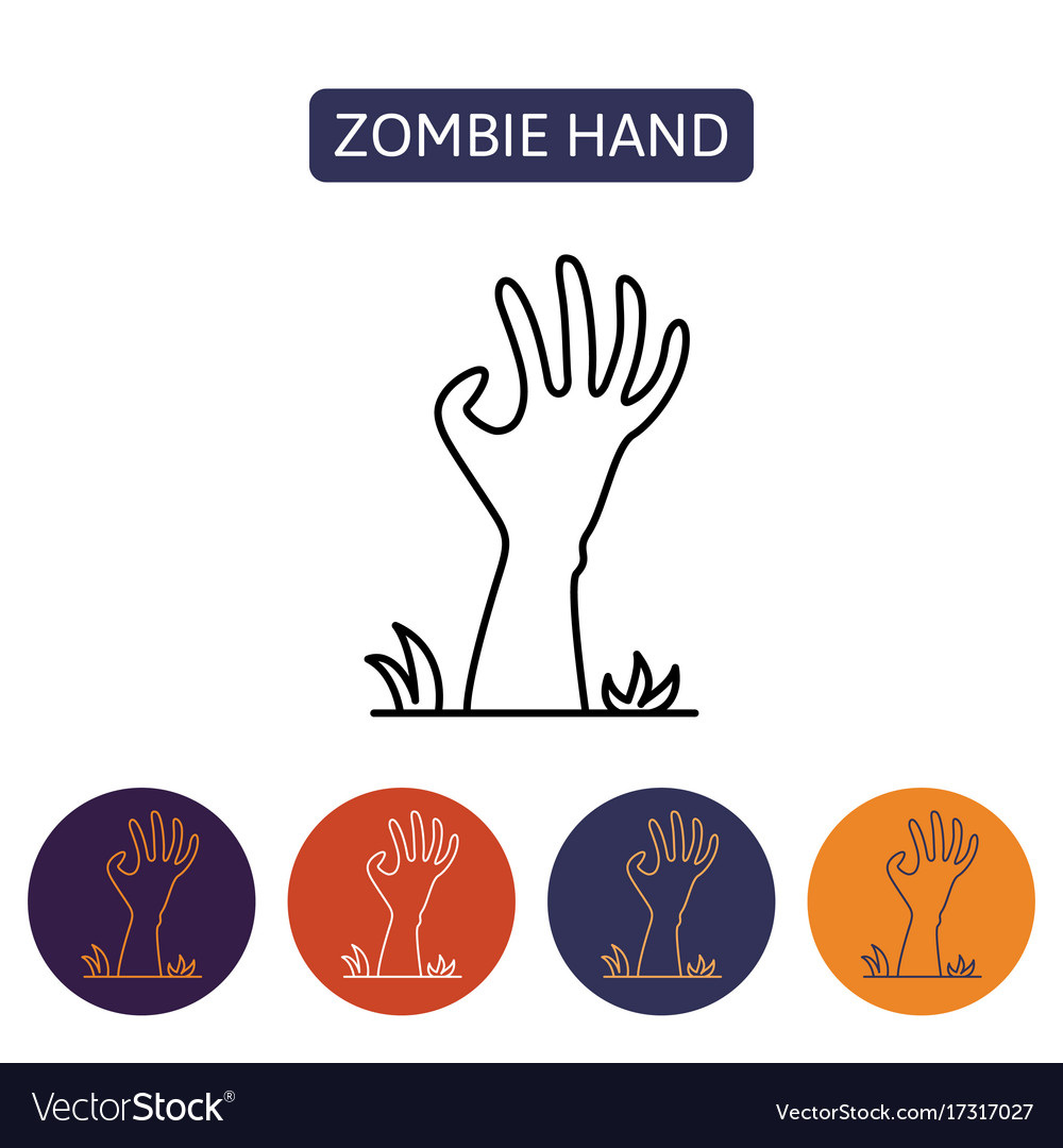 Zombie hand from hell