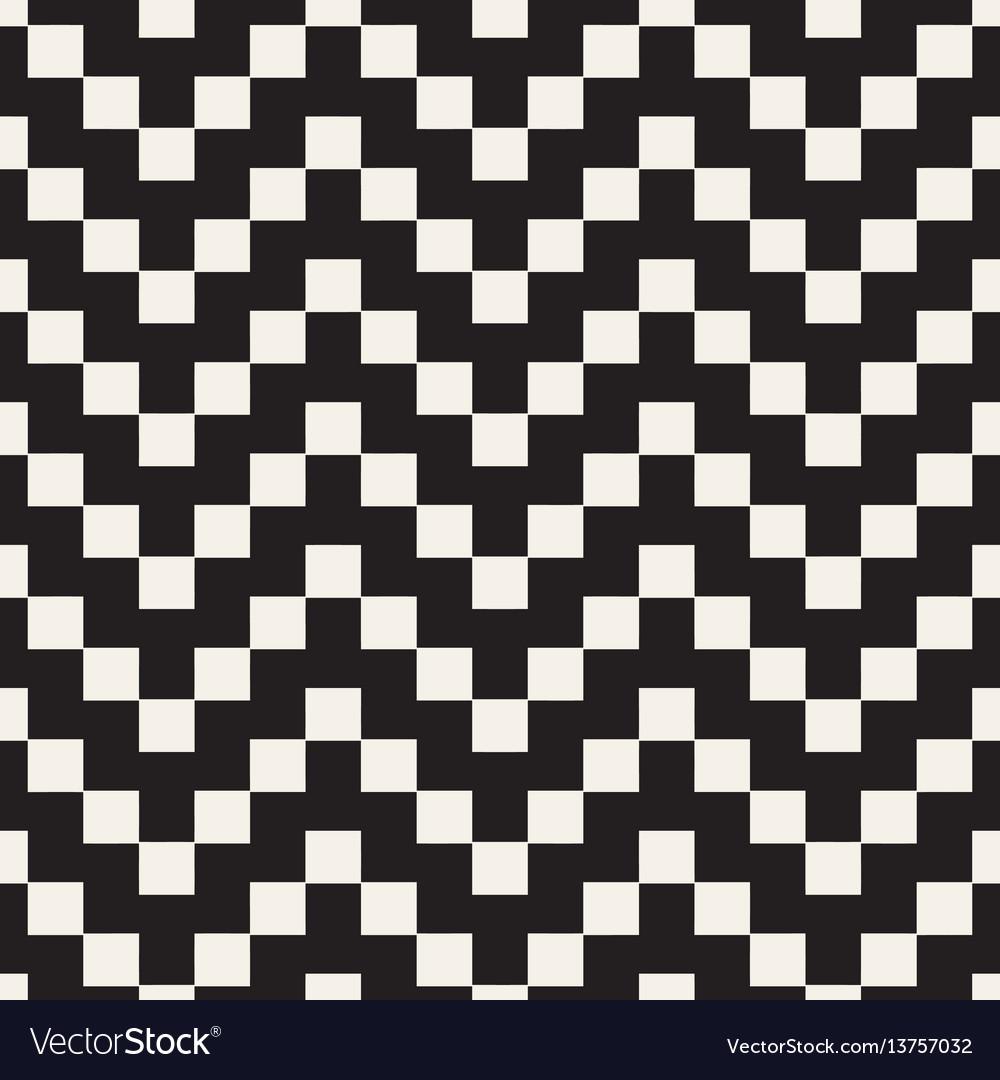 Halftone edgy lines mosaic endless stylish texture