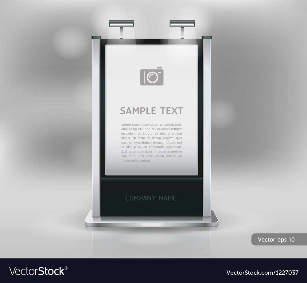 Exhibition Stand Design Brief Pdf : Trade exhibition stand display royalty free vector image