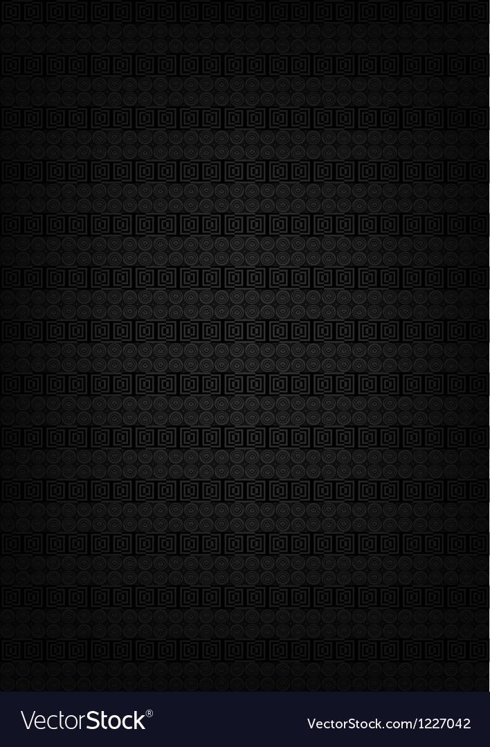 Abstract metallic black texture vector image