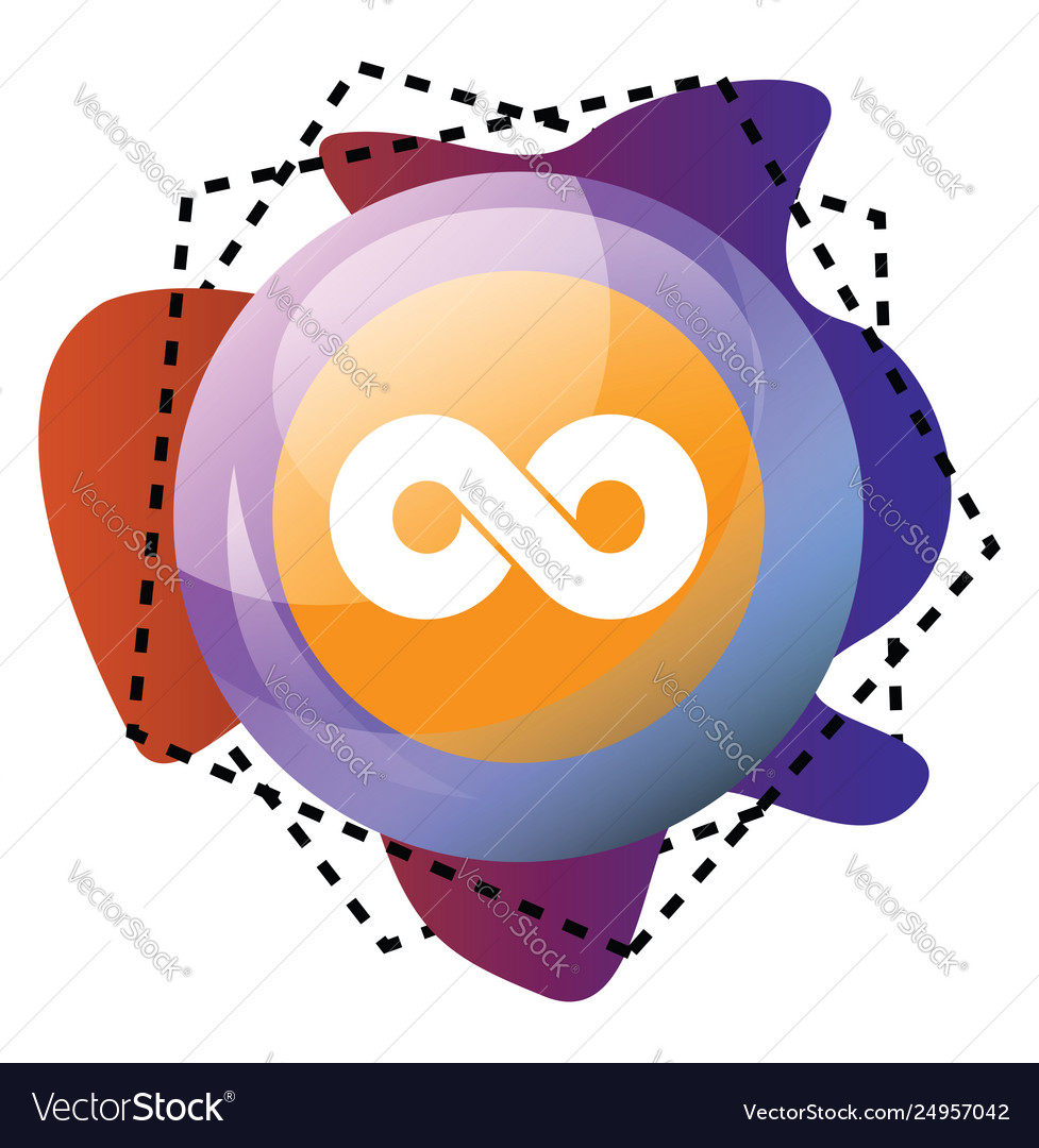 Icon a twoo logo bubble and colorful graphics