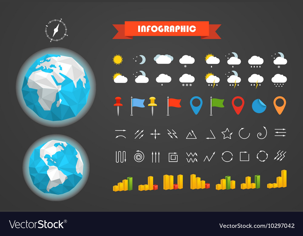 Infographic elements template Different