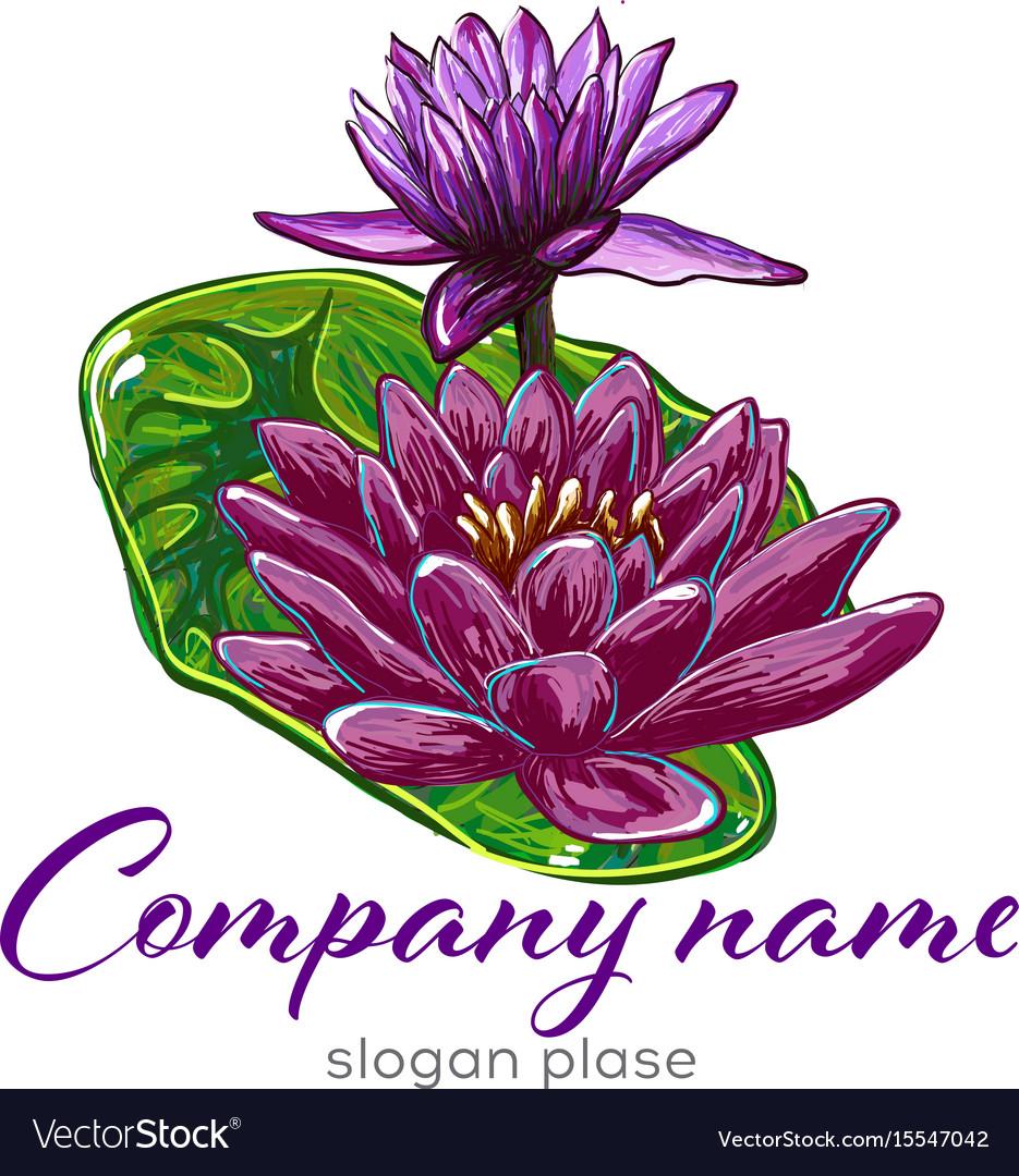 Lotus logolotus flower logobeauty logofashion