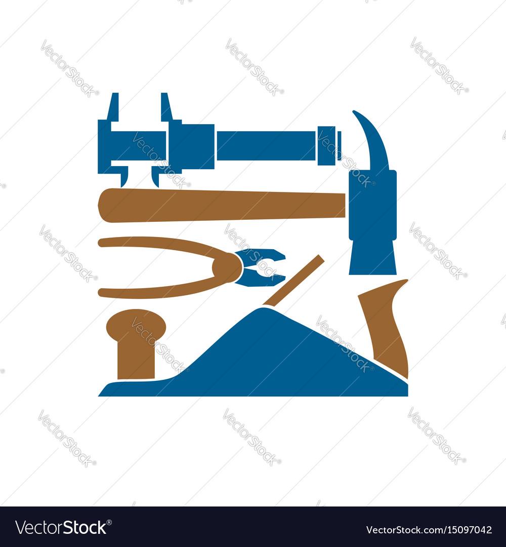 Repair logo repairs tool emblem instrument sign