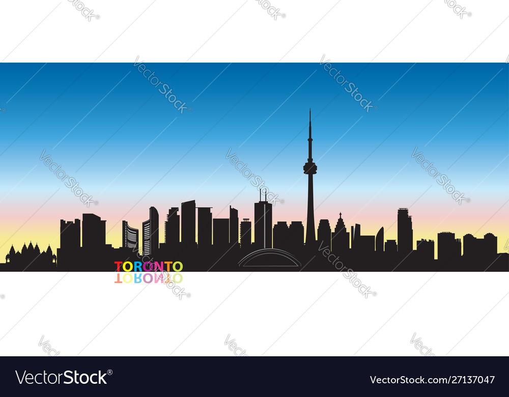 Canada city skyline toronto landmarks cityscape