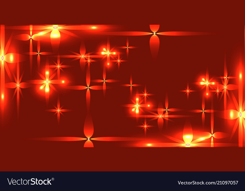 Bloody background with shining light metal stars