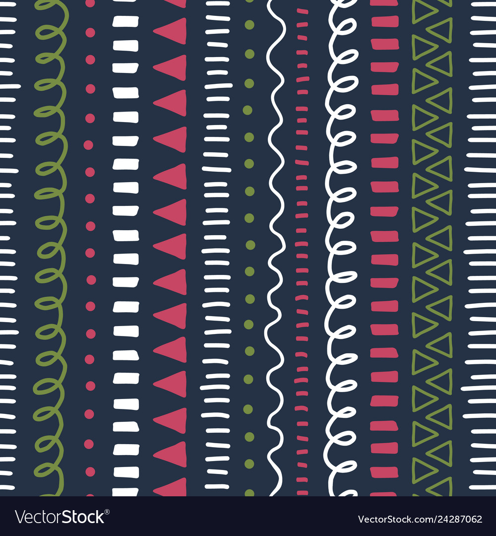 Doodle background modern abstract seamless