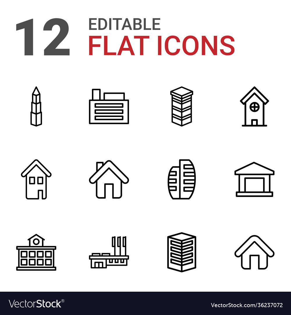 Residential icons