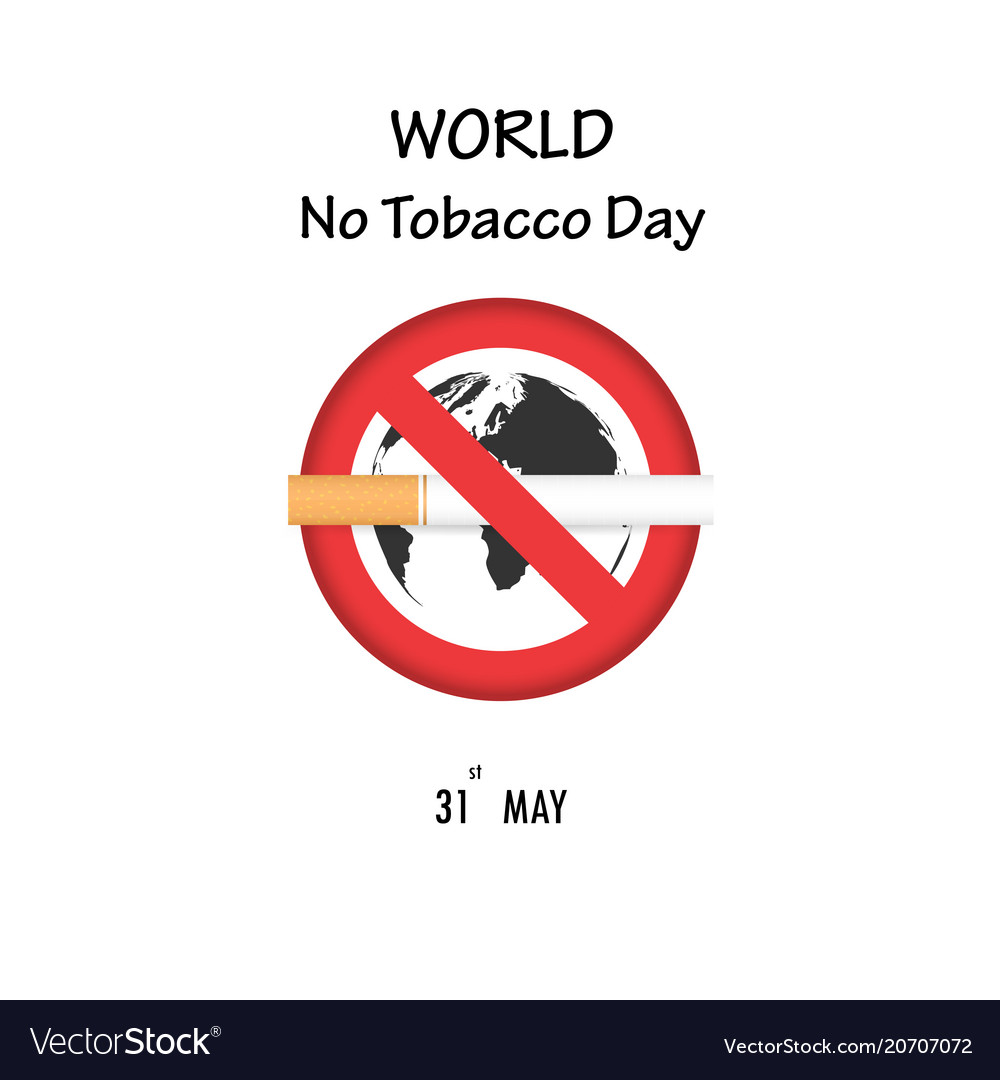 World map icon and quit tobacco logo design vector image gumiabroncs Image collections