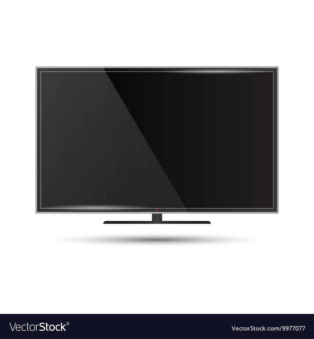 A modern flat screen televi