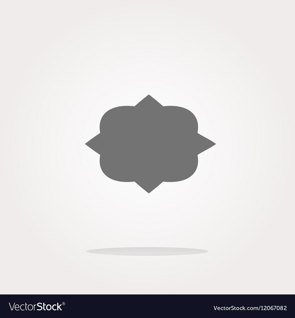Abstract cloud web icon button Web Icon