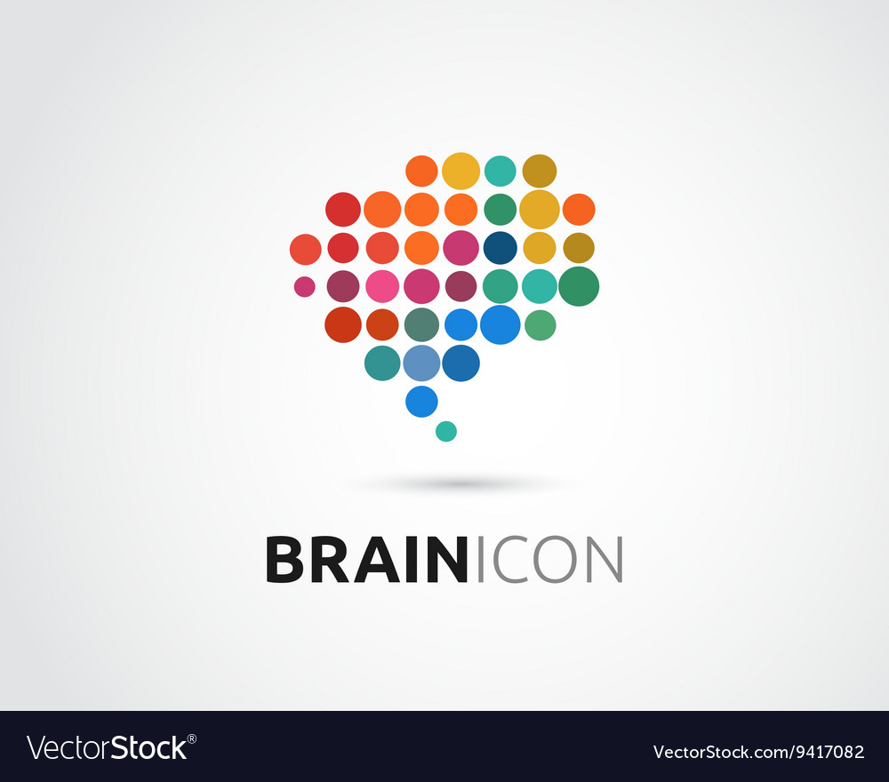 Brain Creative mind head learning icon