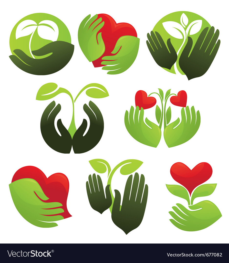Concept of life and nature vector image
