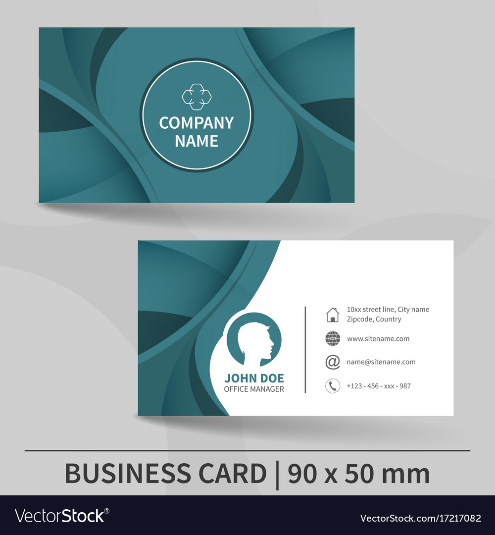 Creative business card template royalty free vector image creative business card template vector image friedricerecipe Gallery