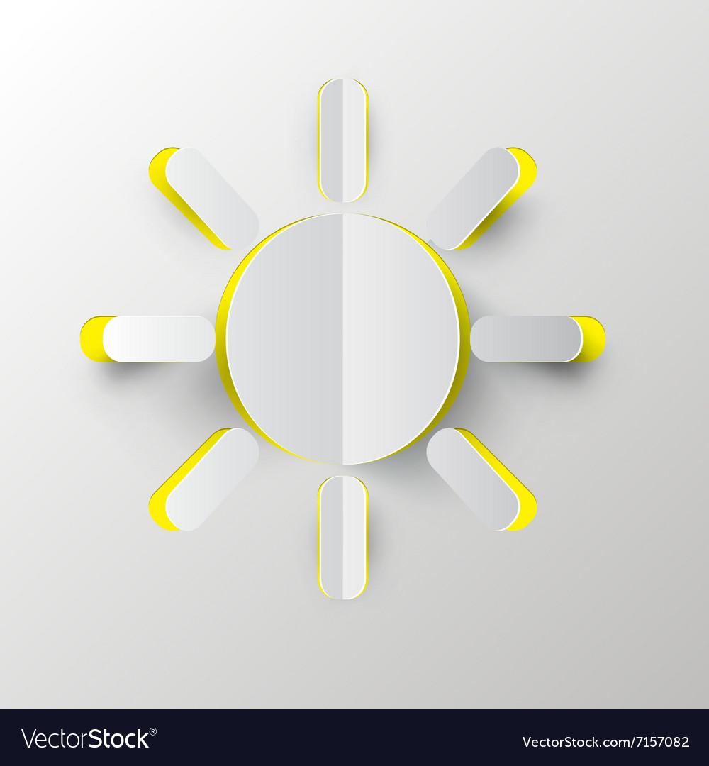 Sun Paper Cut