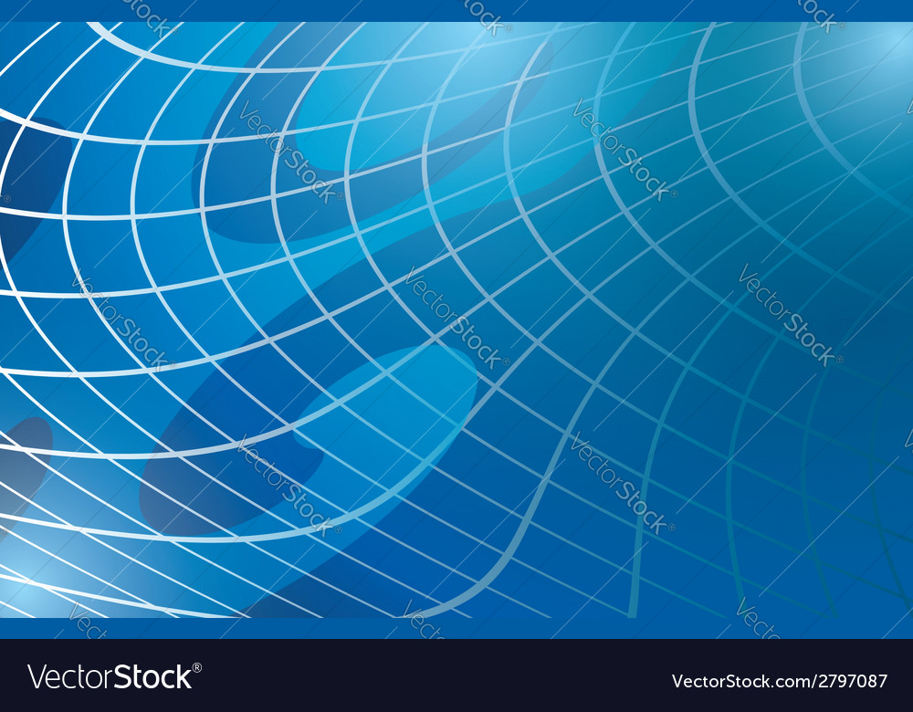 Abstract warped background