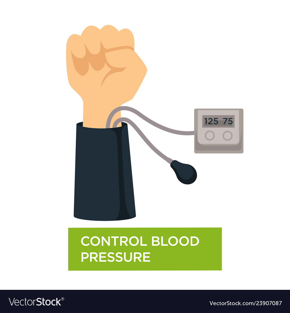 Control blood pressure heart health check