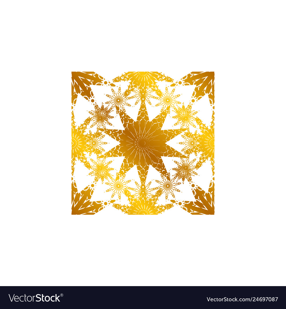 Pattern geometric islamic background template art
