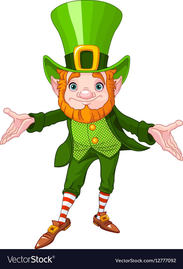 Lucky Leprechaun vector image