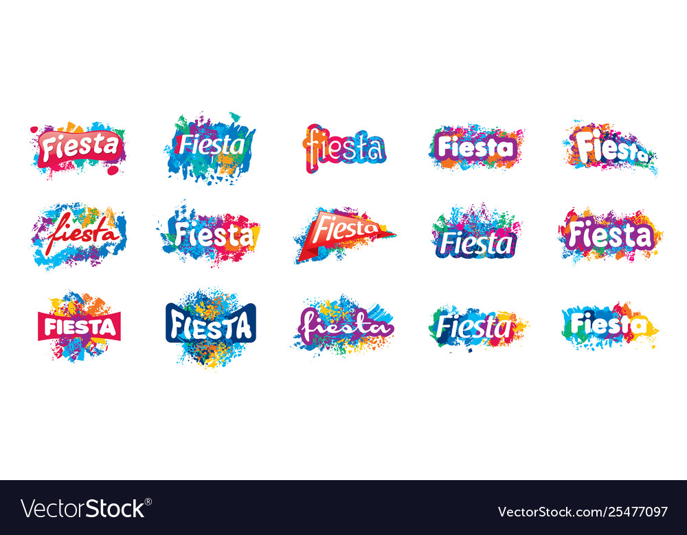 Abstract logo for fiesta