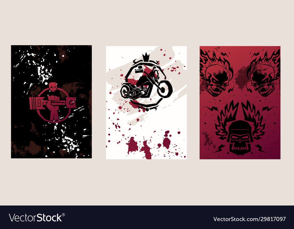 Grunge poster design