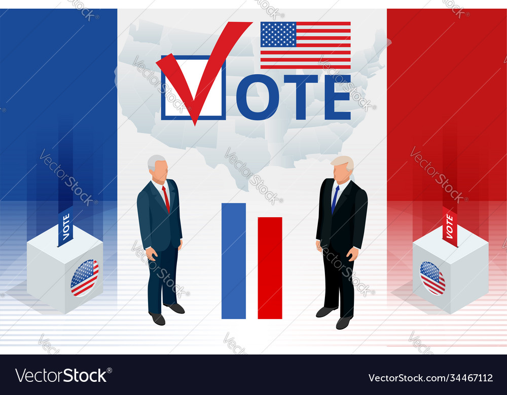 Election day usa debate president voting 2020