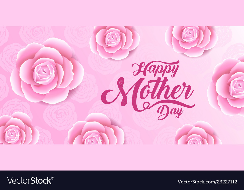 X9xahappy mothers day lettering with a