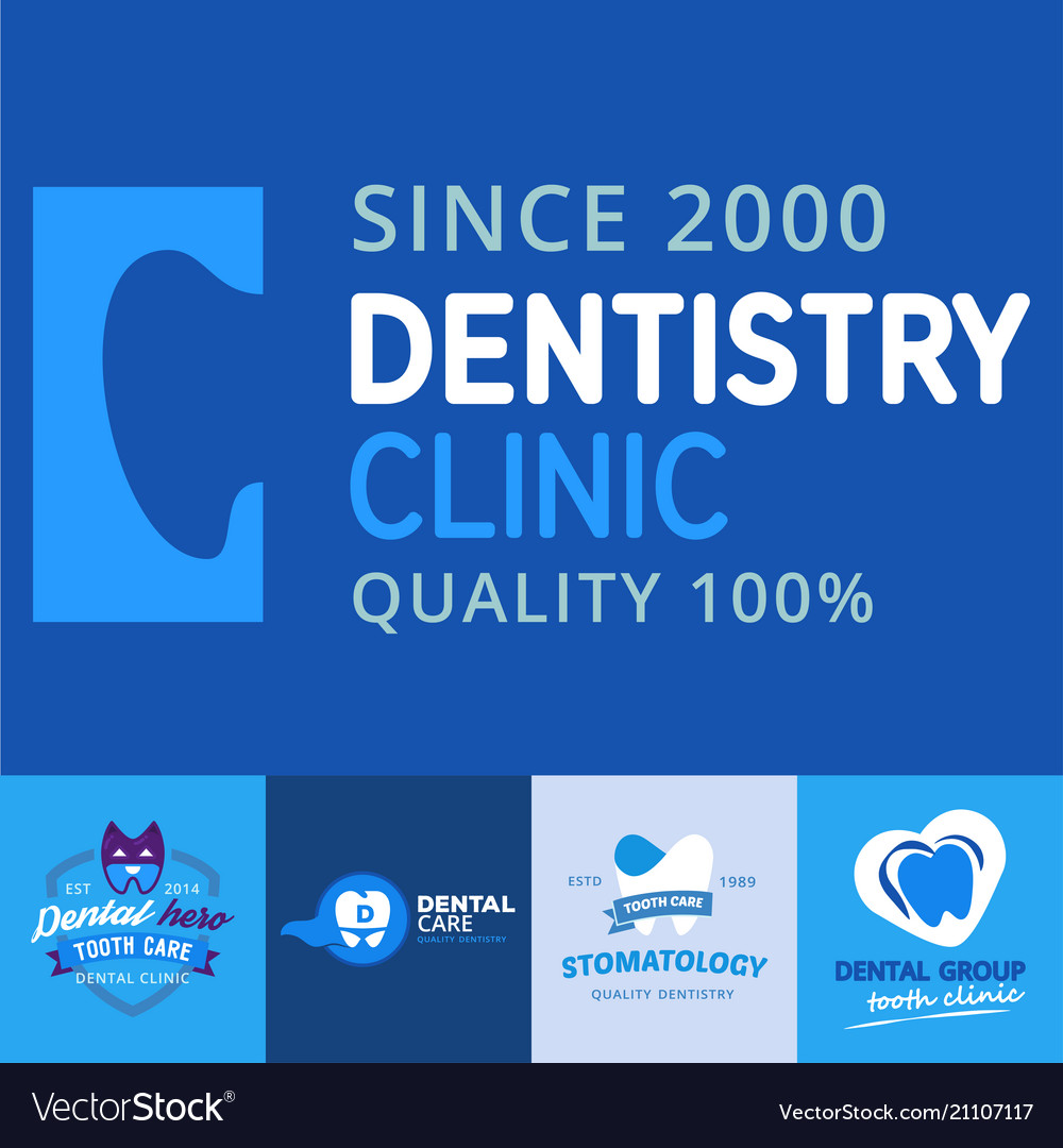 Dental logo protection template