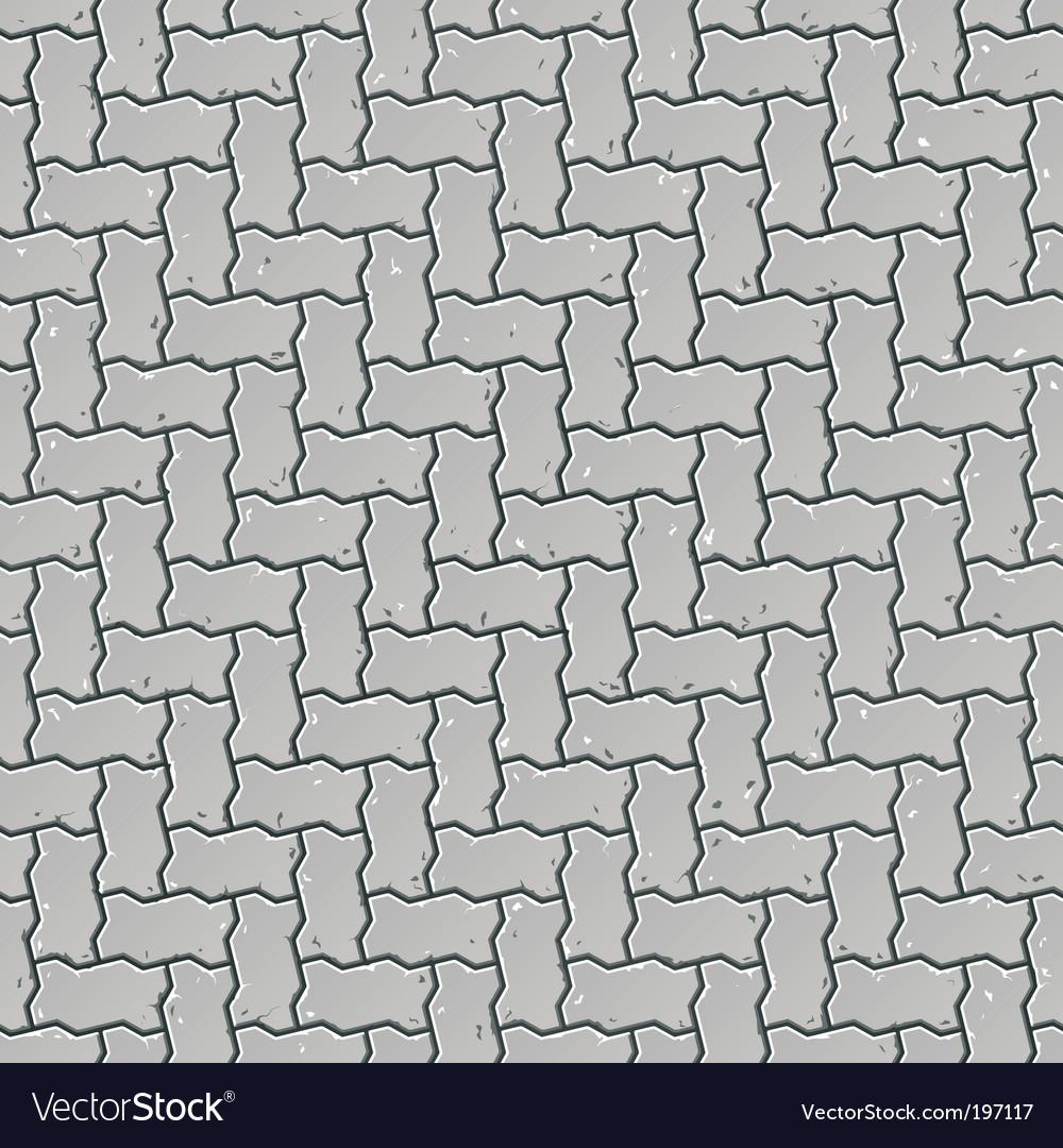 Pavement pattern vector image