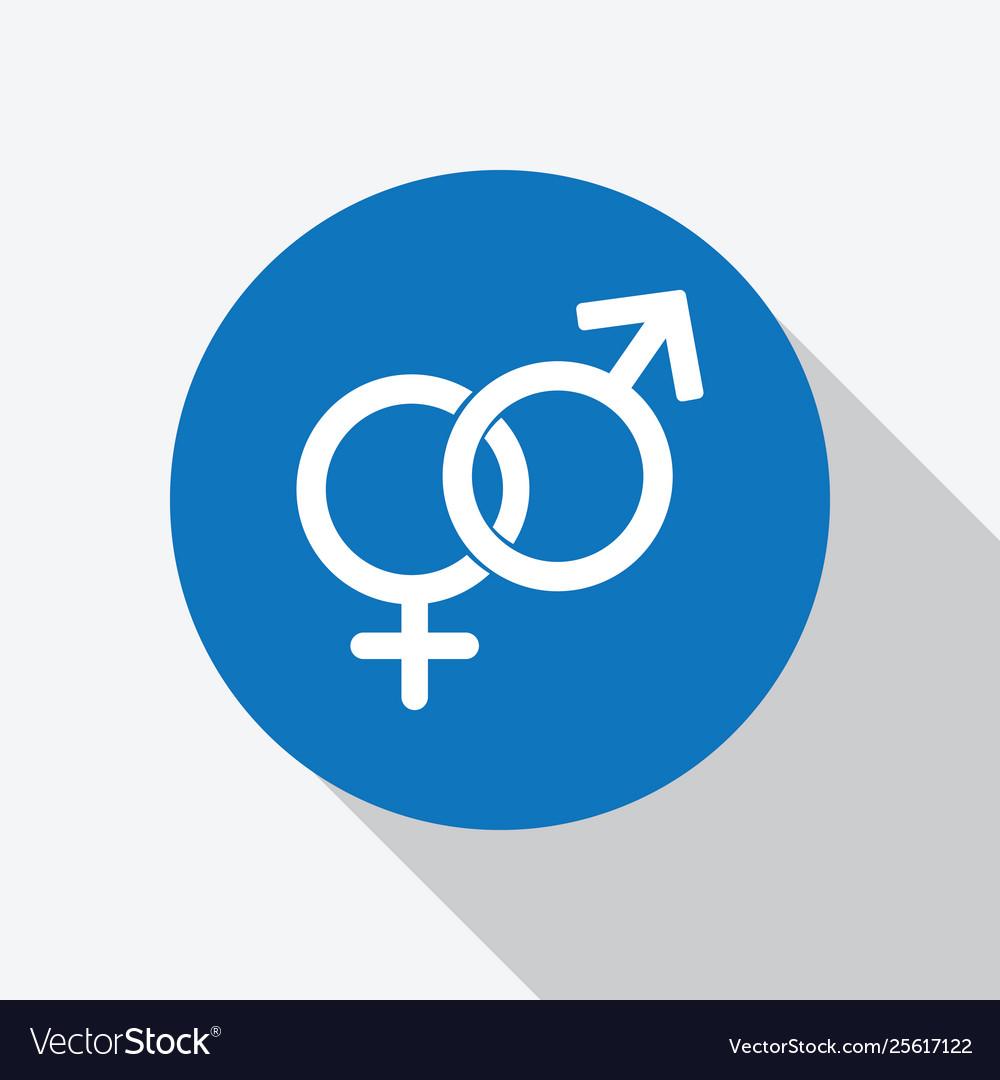 Heterosexual male symbol