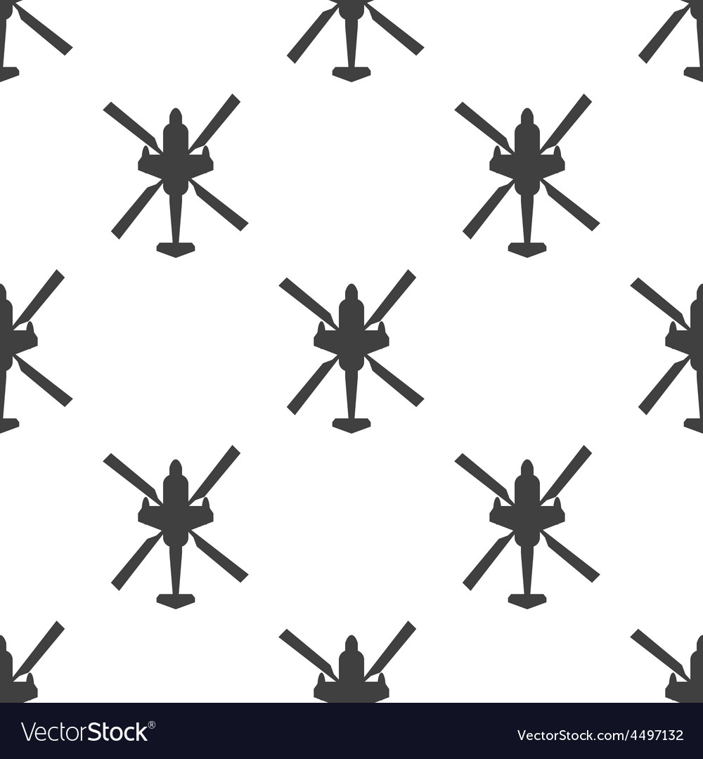 Helicopter seamless pattern