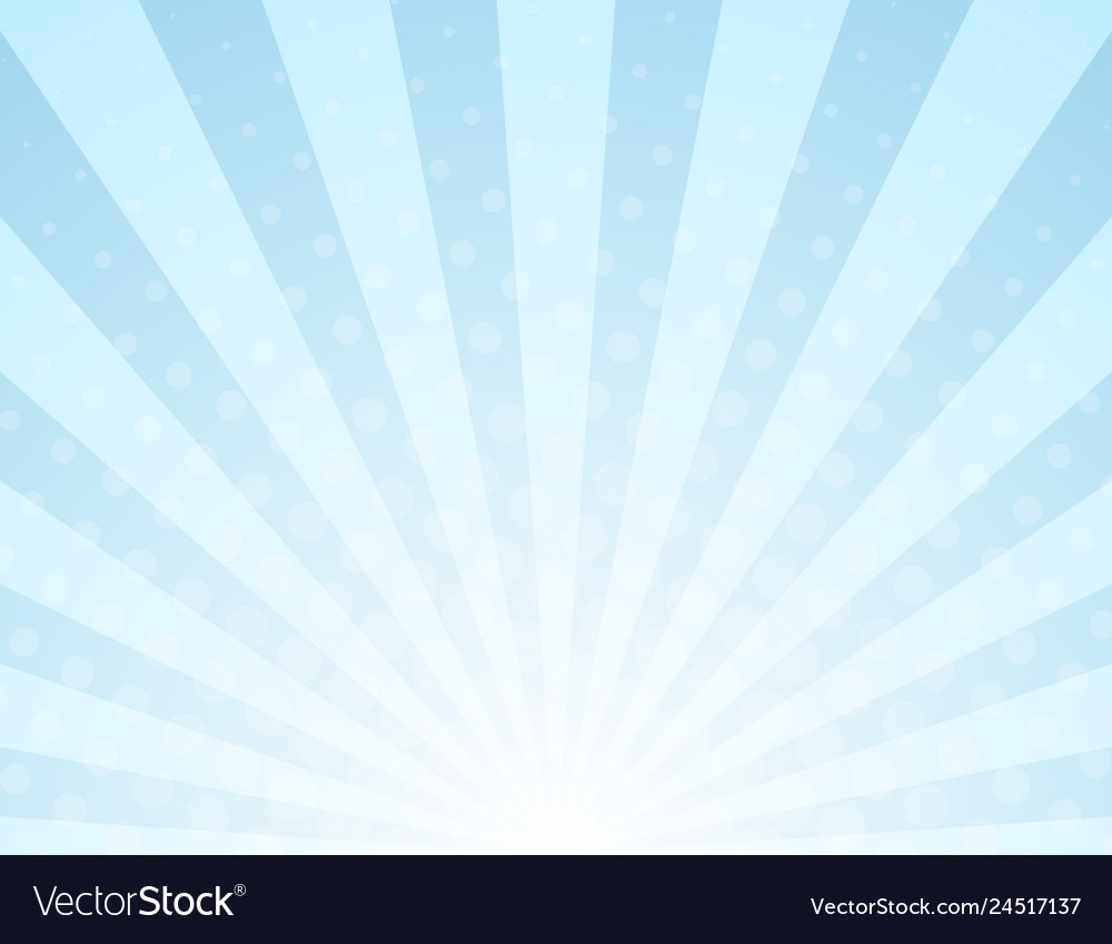 Abstract light rays halftone background
