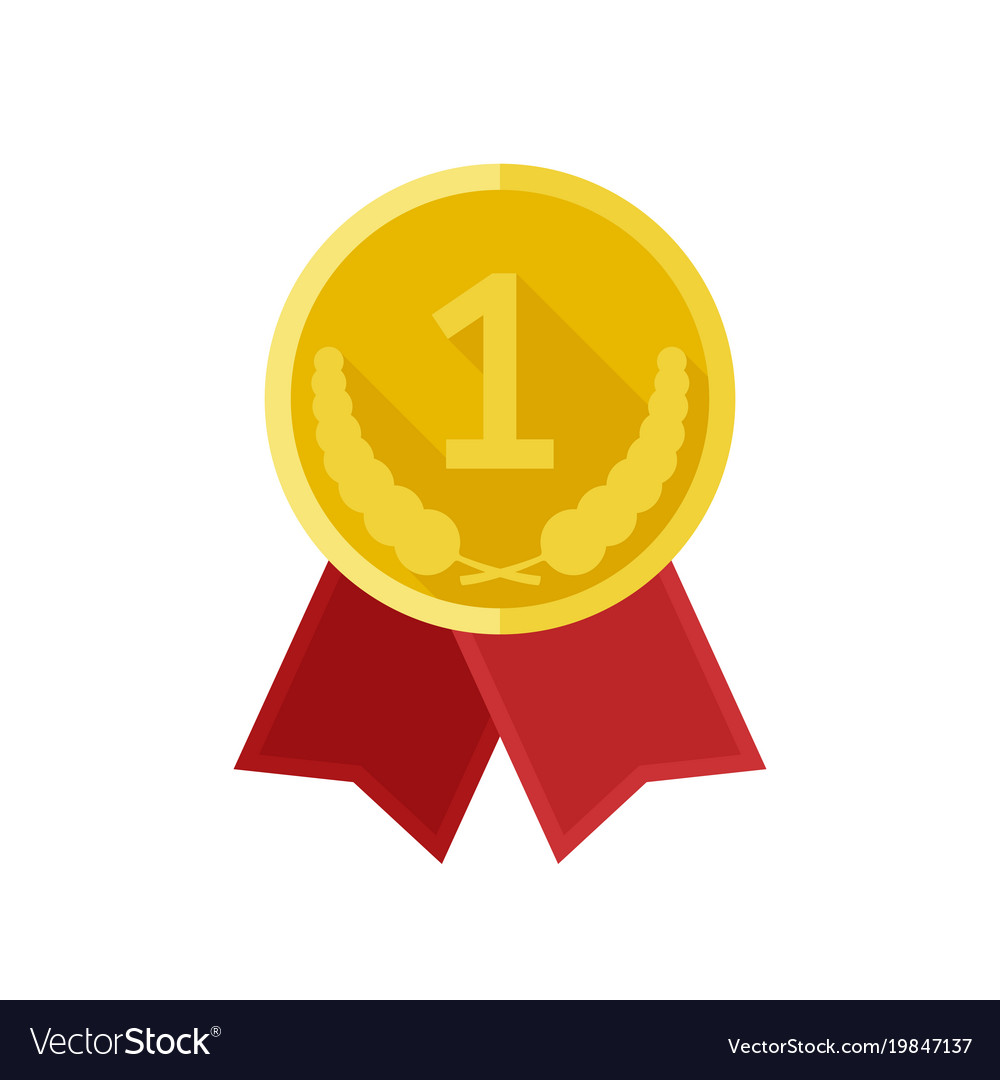 award gold medal royalty free vector image vectorstock