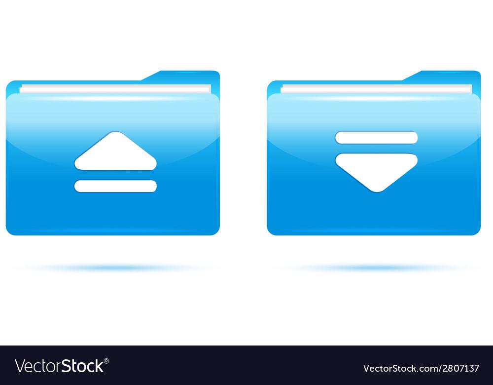 Blue folder download