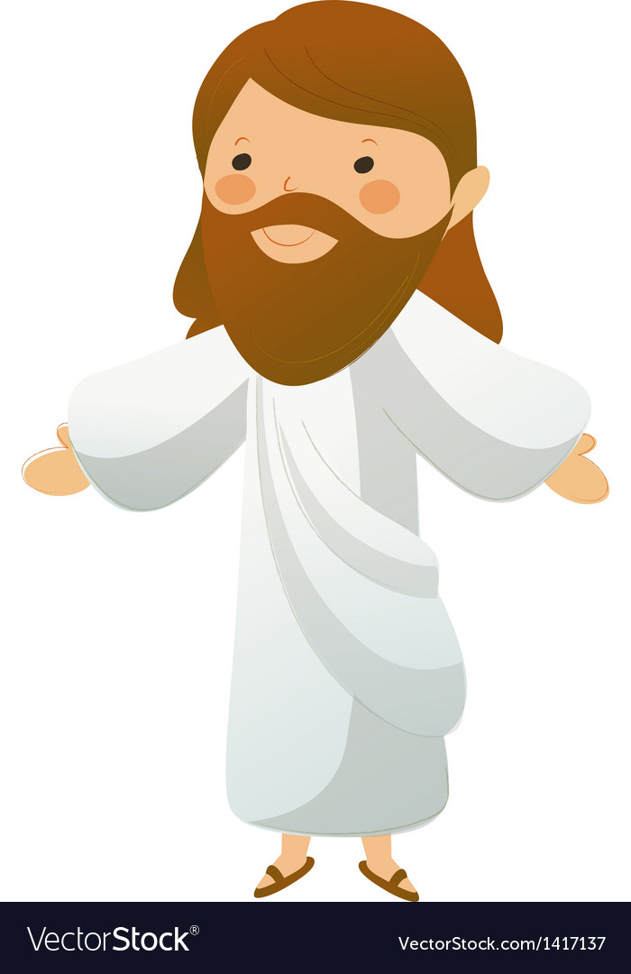 Close-up of Jesus Christ standing