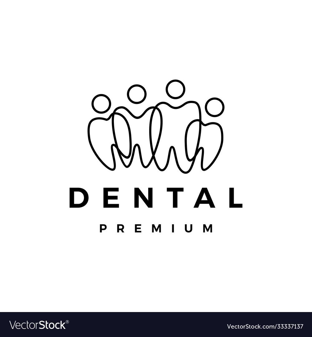 Dental tooth teeth people family team community