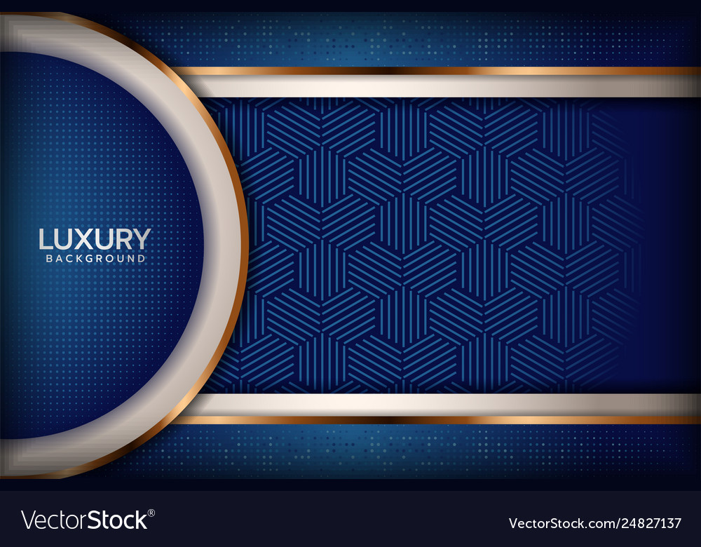 Luxurious Navy Royal Blue Elegant Background