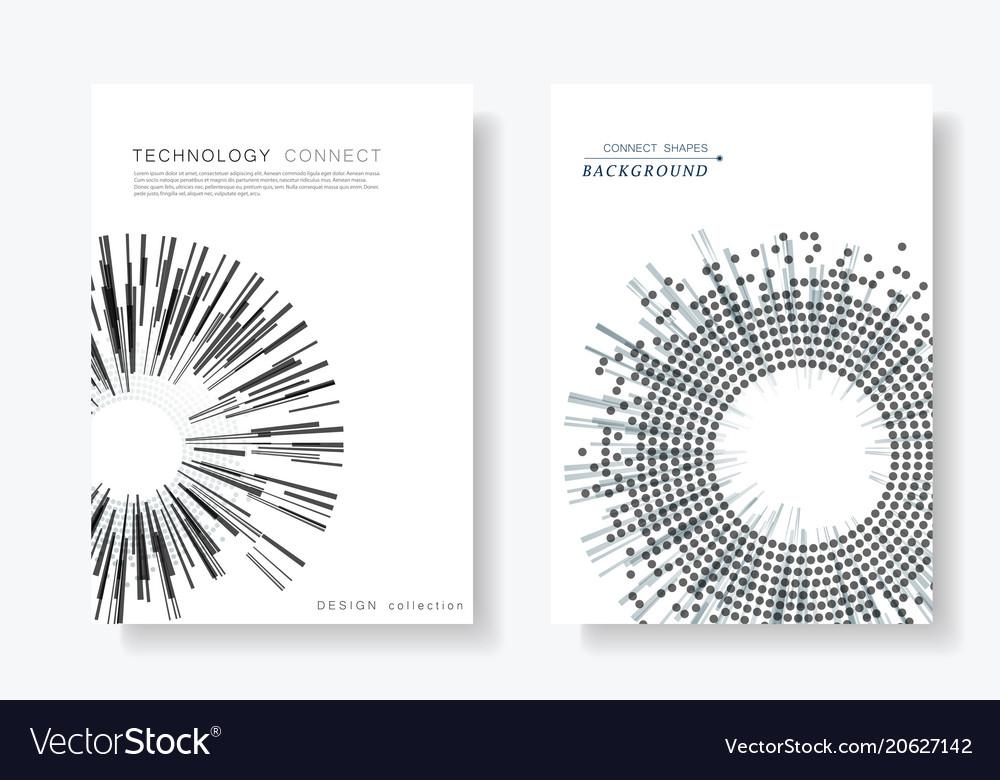 Brochure cover design templates