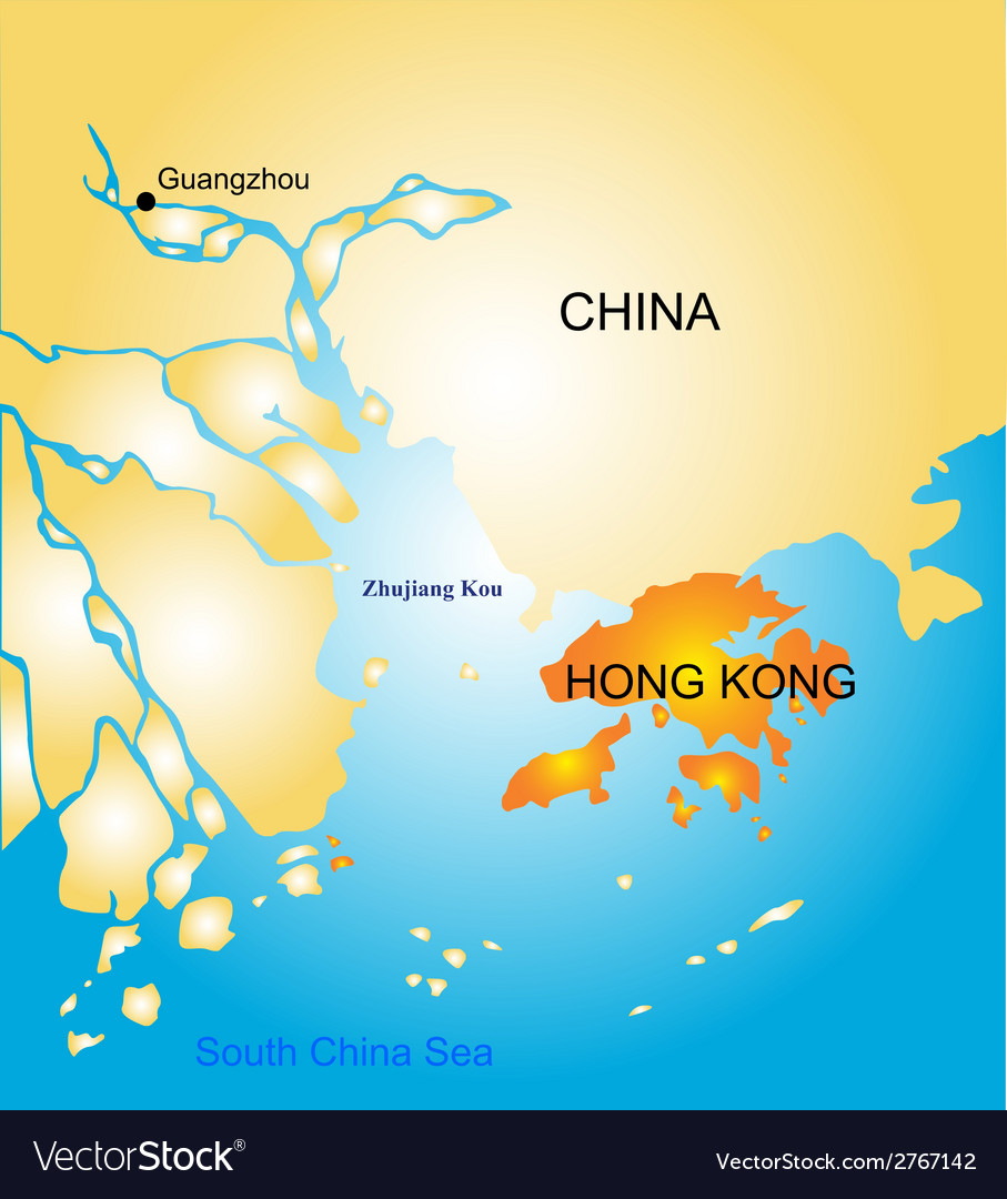 Hong Kong vector image