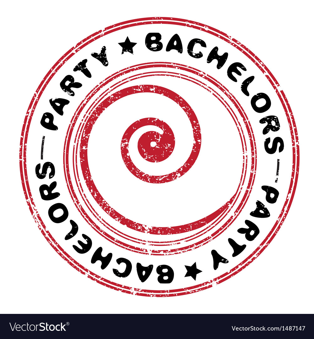 Bachelors party vector image