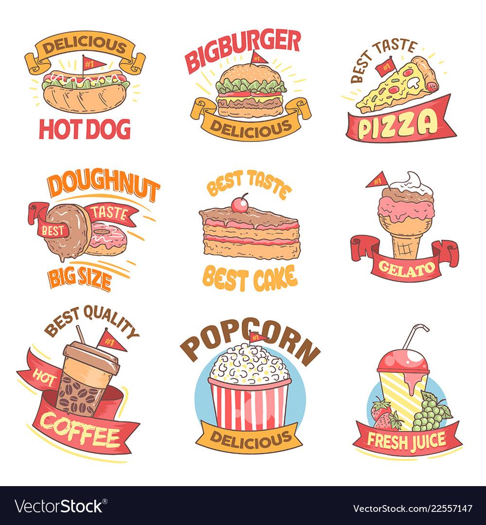 Fast food list
