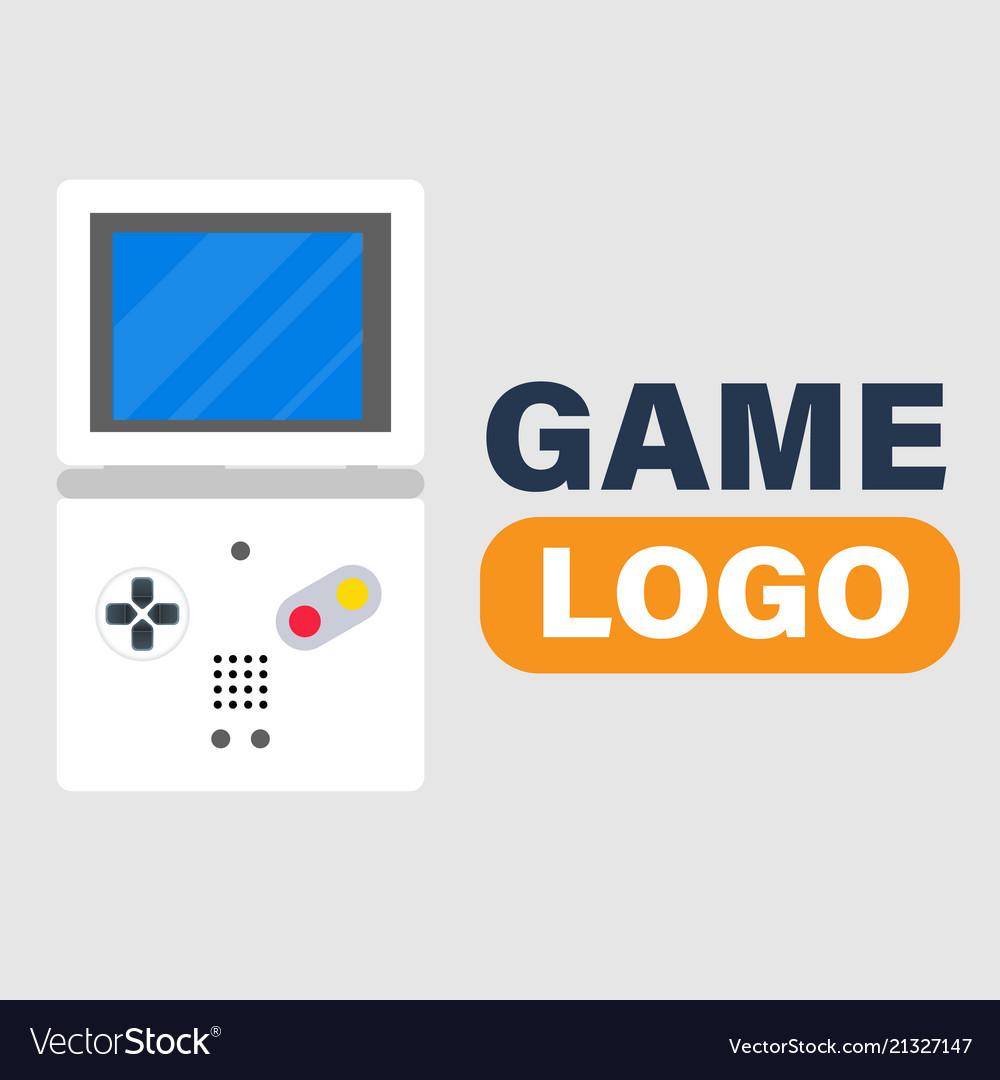 Game logo game boy icon background image