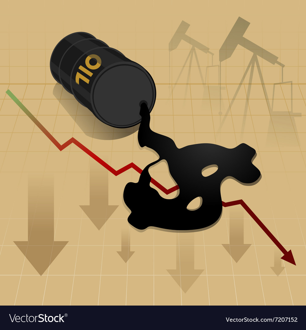 Business Energy oil price down