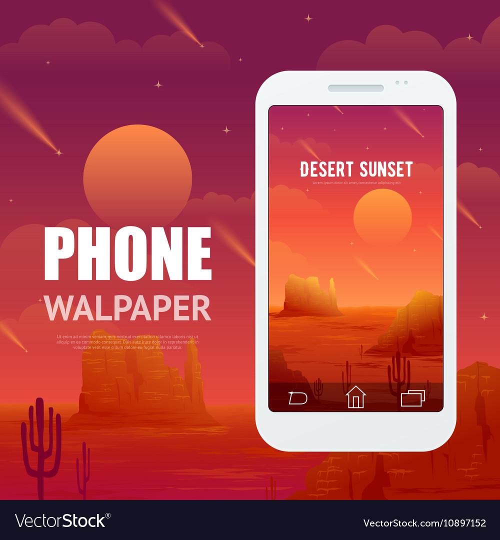 Desert Concept For Phone Walpaper